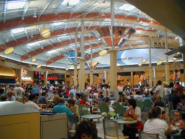 Galleria At Pittsburgh Mills Food Court