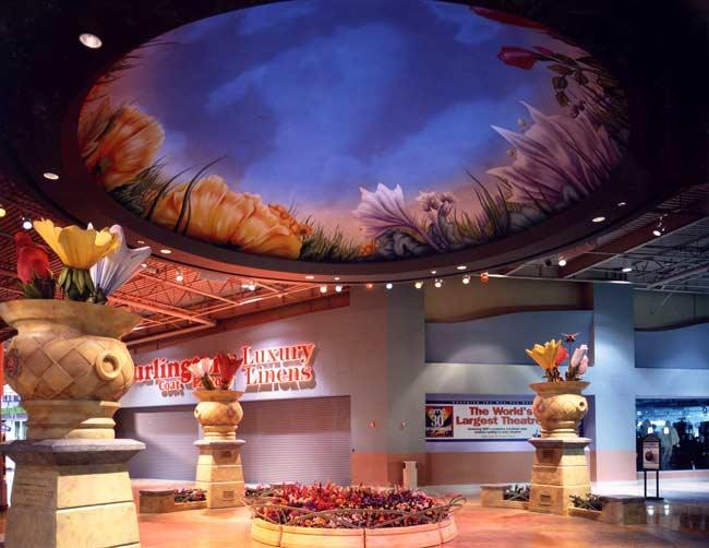 Architectural Interior Lighting Design Ontario Mills Mall Jk Design Group Jk Design Group